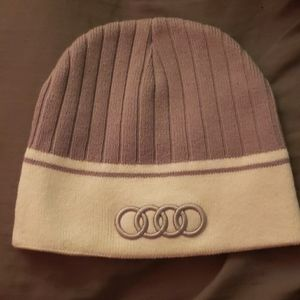 Official Audi winter beanie one size fits most.